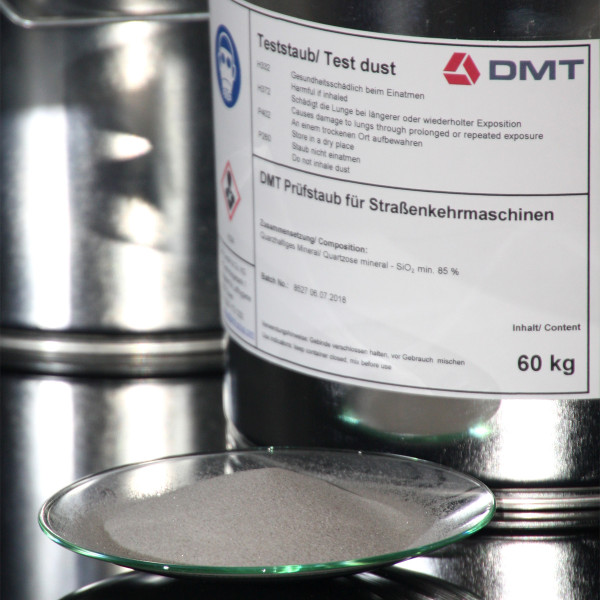 DMT Test Dust for Streetsweeper