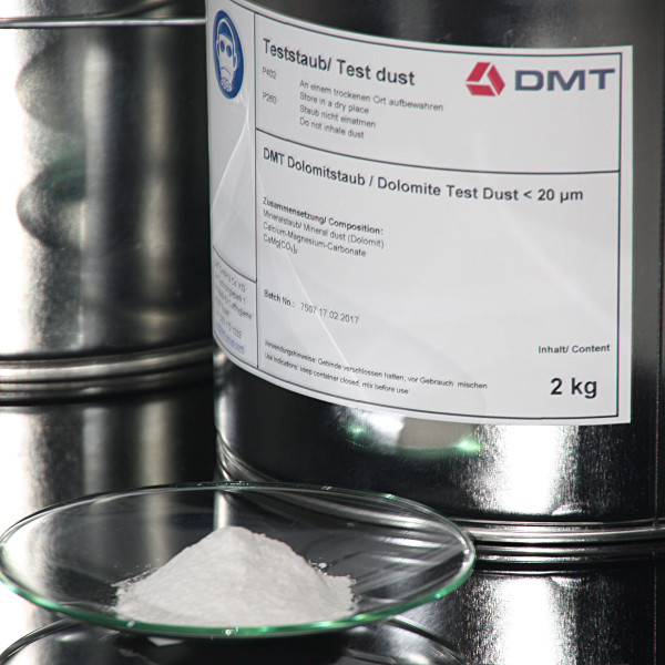 DMT Dolomite Test Dust up to 20 my