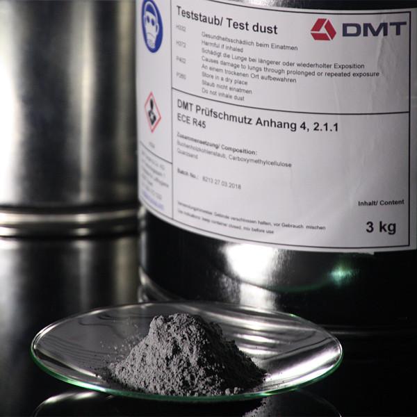 DMT Test Dirt ECE R45 Annex 4 2.1.1