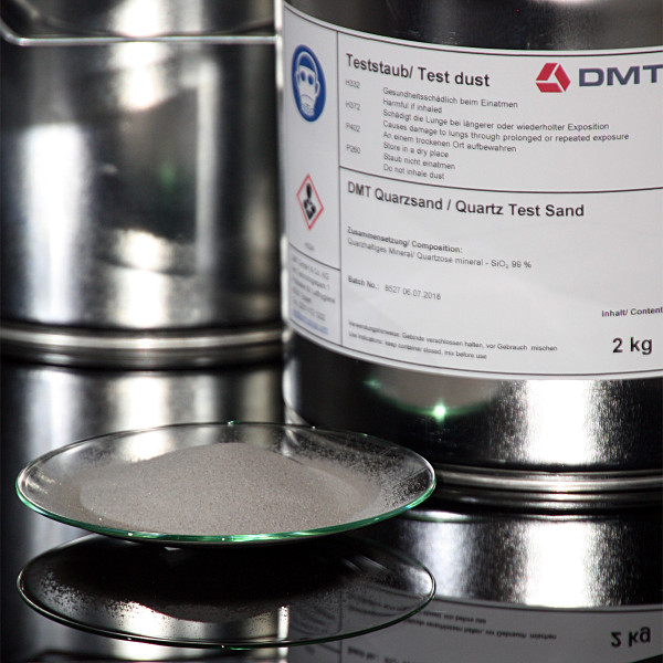 DMT Quarzsand, verschiedenen Korngrößen