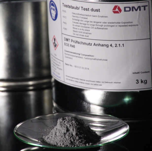 DMT Test Dirt ECE R123 1.2.1.1.1
