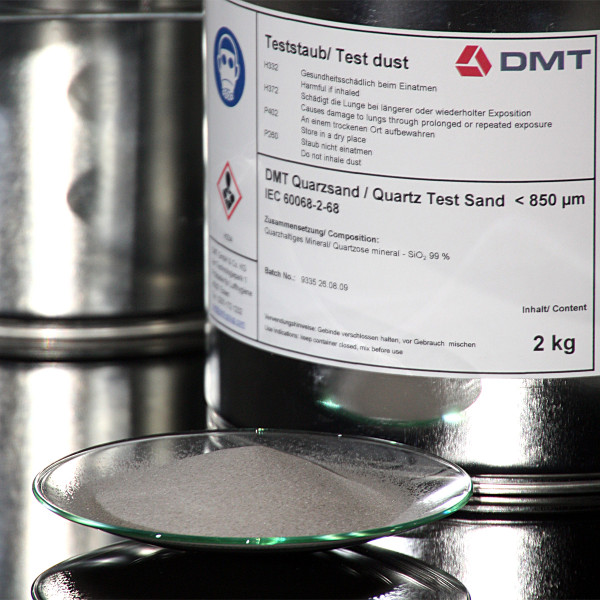 DMT Quartz Sand up to 850 my